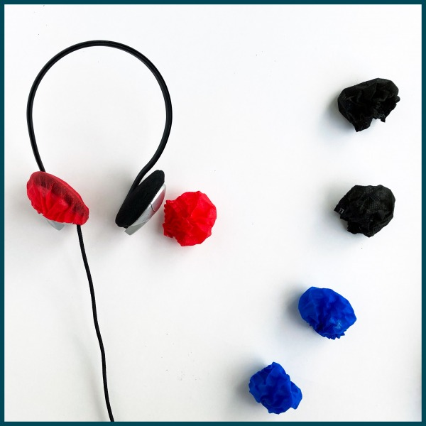 Kulak Üstü Kulaklık Hijyen Pedleri